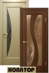 Двери деревяные шпонированые