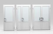 Металлопластиковые и алюминиевые межкомнатные двери ПВХ