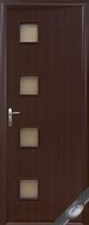Новые двери с маленькими окошками